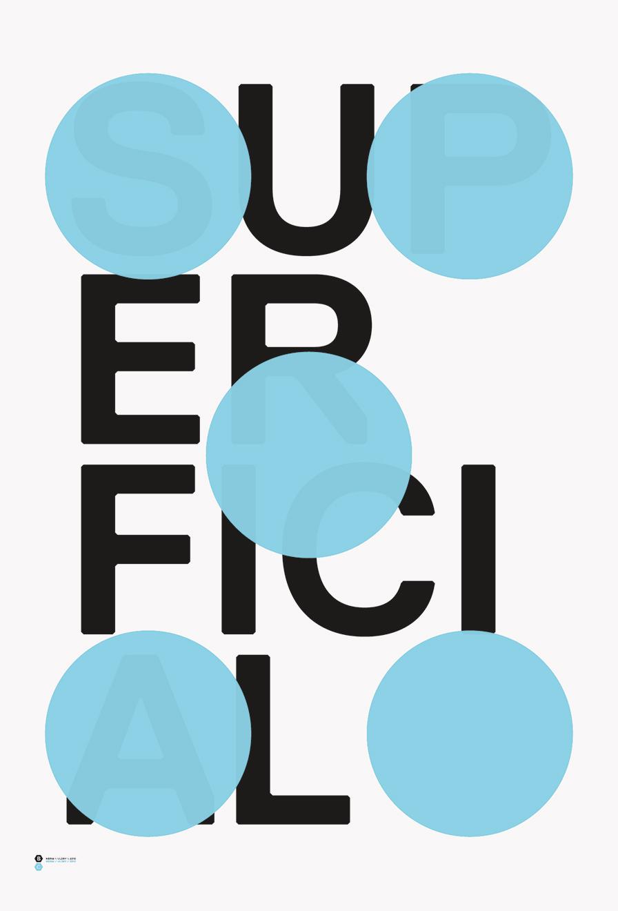 Modular typefaces as a design tool